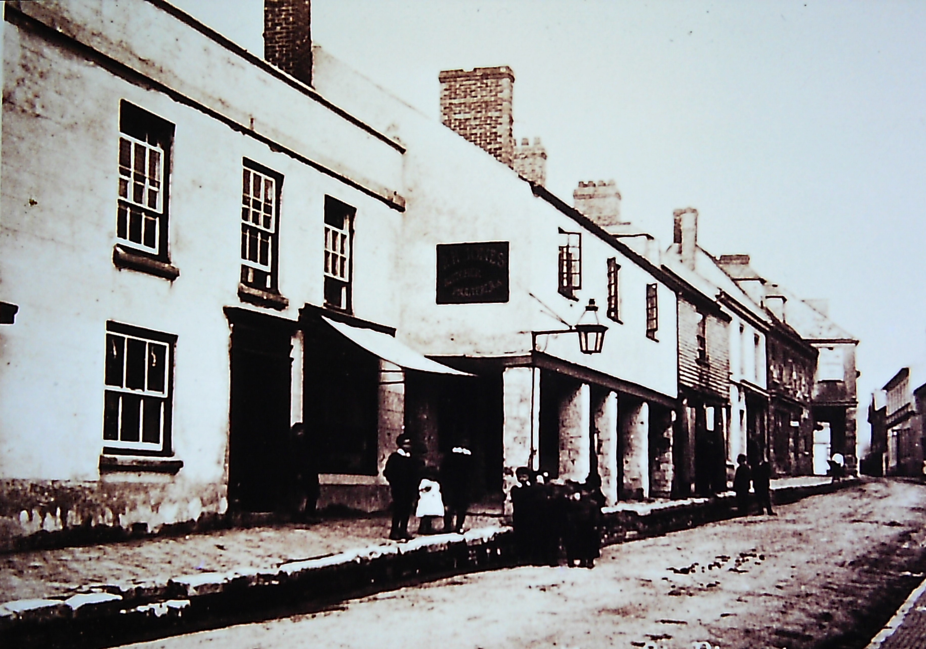Fore St. - Circa 1890