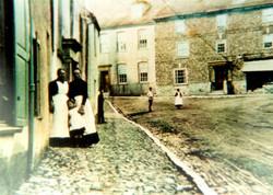 Longbrook St. & Parade area - 1890's