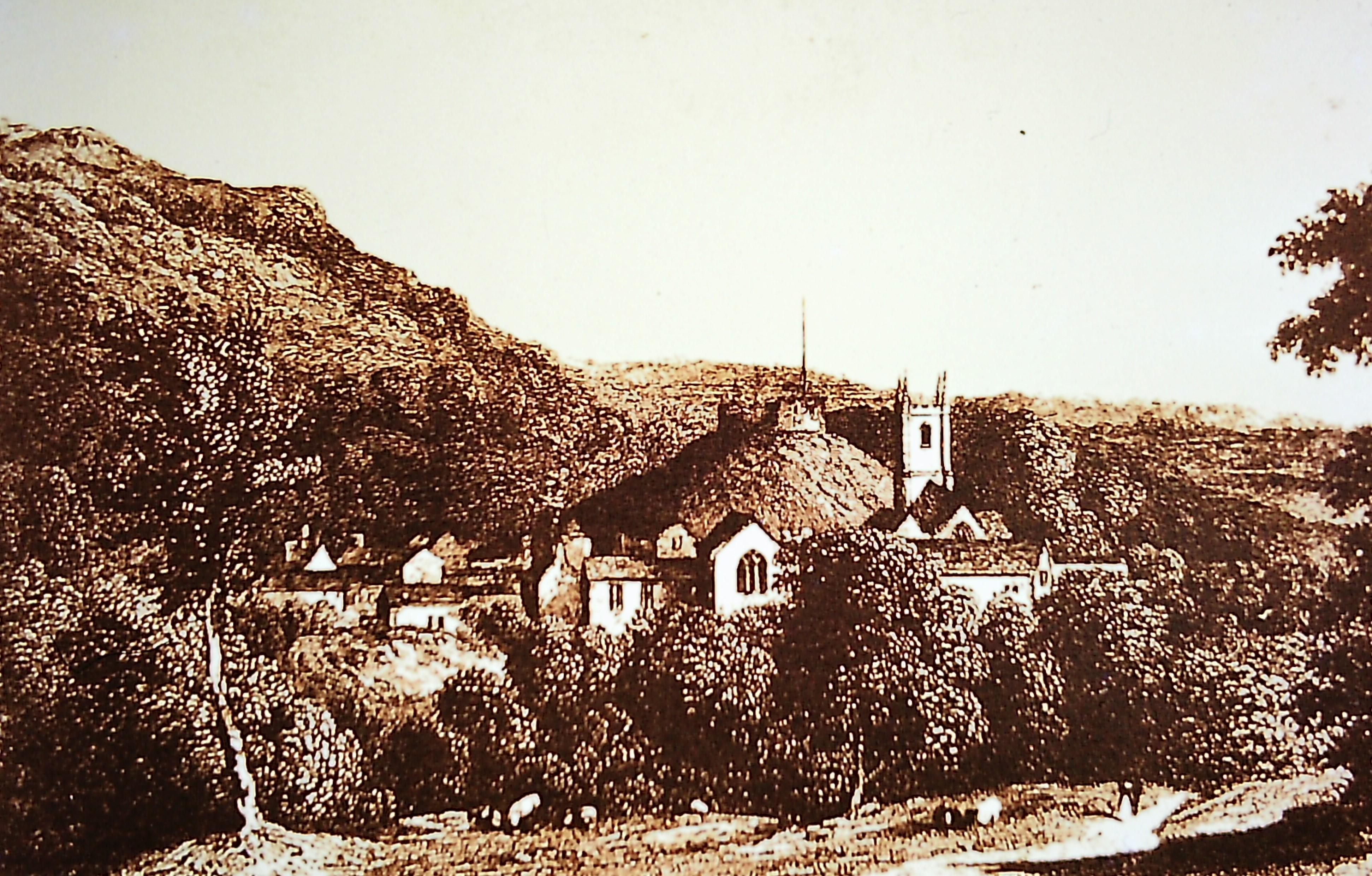 Castle - old print
