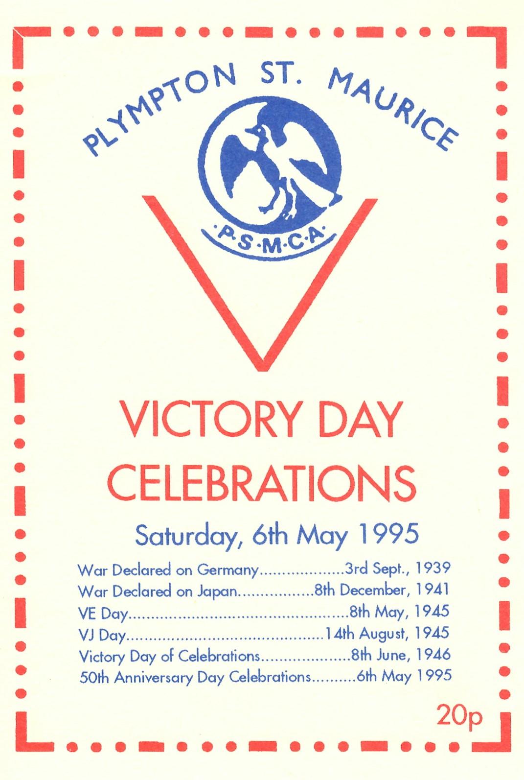 V.E. Day celebration -1995 - 1
