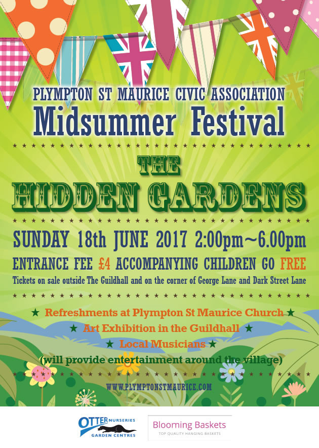 Plympton St Maurice Midsummer Festival - The Hidden Gardens