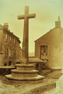 St. Maurice Church - Cross from the E.