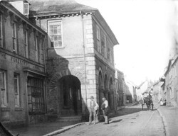 Plympton Guildhall in the 1890s