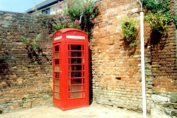 Church Road -Telephone kiosk