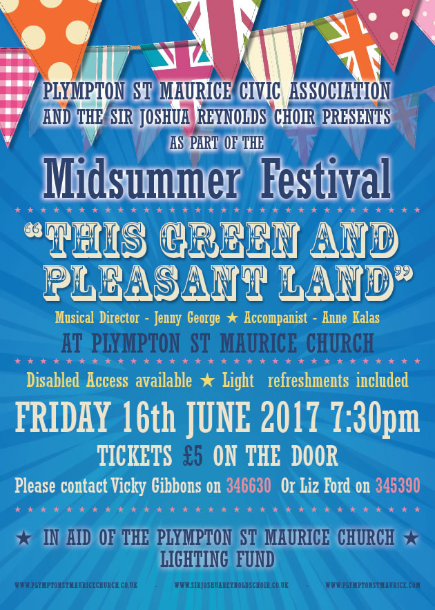 Plympton St Maurice Midsummer Festival - This Green and Pleasant Land
