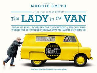 The Lady In The Van pops up in Plympton St Maurice