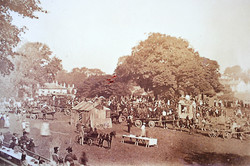 Castle Green - Coronation of Edward VII - 1902