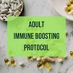 Adult immune boosting supplement protocol
