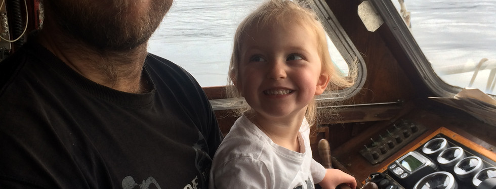 Family Cruise - Dad and Cora