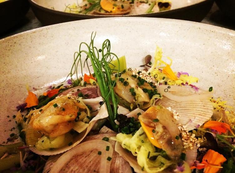 Dish at the Fairmont Empress