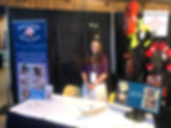 Melissa Collier at the BC Seafood Expo