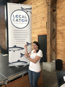 Melissa Collier at the Local Catch Summit in Portland Oregon