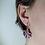Thumbnail: Boucles d'oreille feuille d'érable