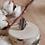 Thumbnail: Bague ovale semie martelée