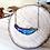 Thumbnail: Collier plume bleu