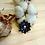 Thumbnail: Pendentif fleur de lotus bleu