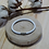 Thumbnail: Bracelet  en cuir blanc tressé