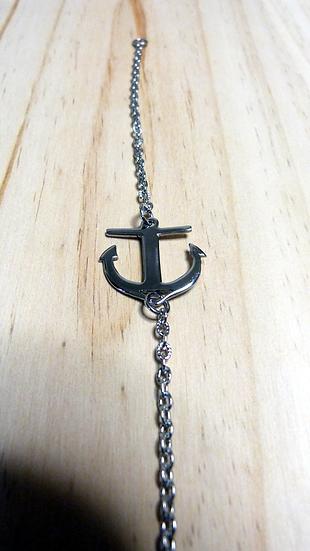 Bracelet ancre acier