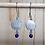 Thumbnail: BO inox satiné et lapis lazuli