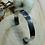 Thumbnail: Bracelet martelé en inox