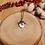 Thumbnail: Pendentif feuille de lierre givrée