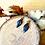 Thumbnail: Boucles plumes bleu