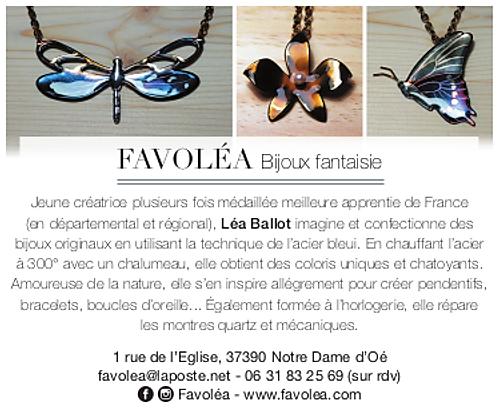 Favolea, artisanat, bijouterie, indre et loire, bijoux artisanaux, bijoux fantaisie indre et loire, bijoux acier