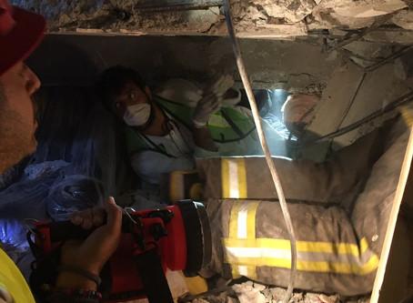 Búsqueda y Rescate del Sismo de 19 de Septiembre