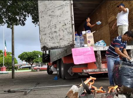Alivio y seguimiento de desastre en Jojutla, Morelos