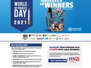 2021 WORLD NO TOBACCO DAY