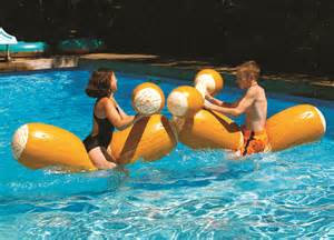 INFLATABLE LOG FLUME JOUST SET