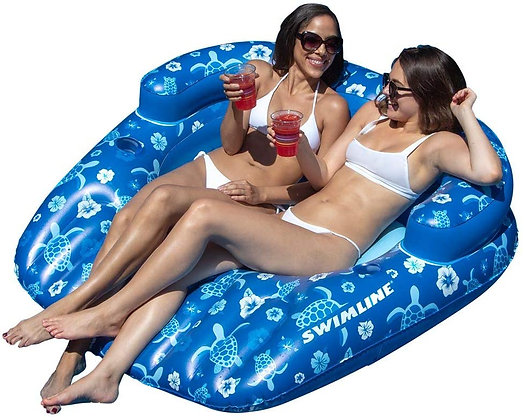 Tropical Double Lounger
