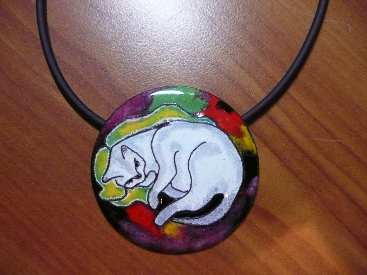 cloisonne met emaille
