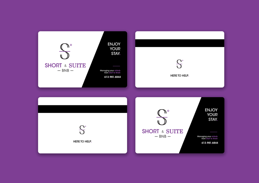 short and suite swipe key cards