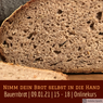 Online-Live-Kurs - Bauernbrot EINFACH & GENIAL - 9. Jänner 2021