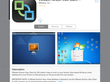 5 Demos of the New VMware Horizon Client for iOS 4.7
