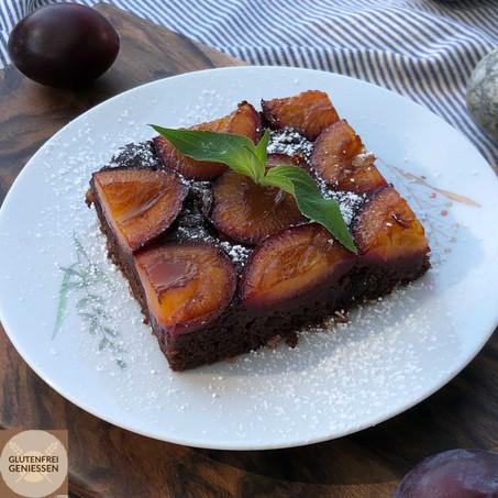 Zwetschke-trifft-Schoko-Kuchen