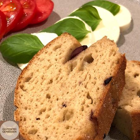 Olli - mein Sauerteigbaguette mit Oliven