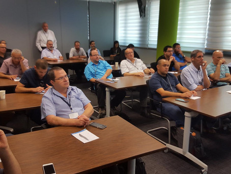 Our customers at a VMware Workspace One workshop conducted by Mobisec's mobility experts