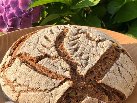 Genuss-hoch3-Brot - glutenfreies Sauerteig-Bier-Brot