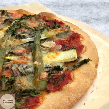Pizza verdura - mit Knusperboden
