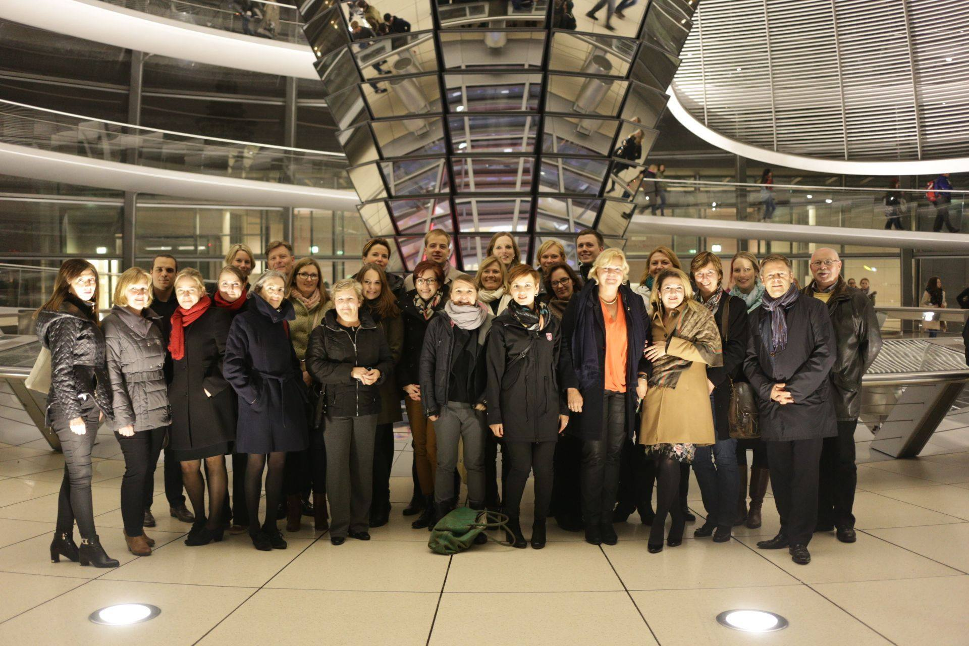 Visit in Deutscher Bundestag, 2015