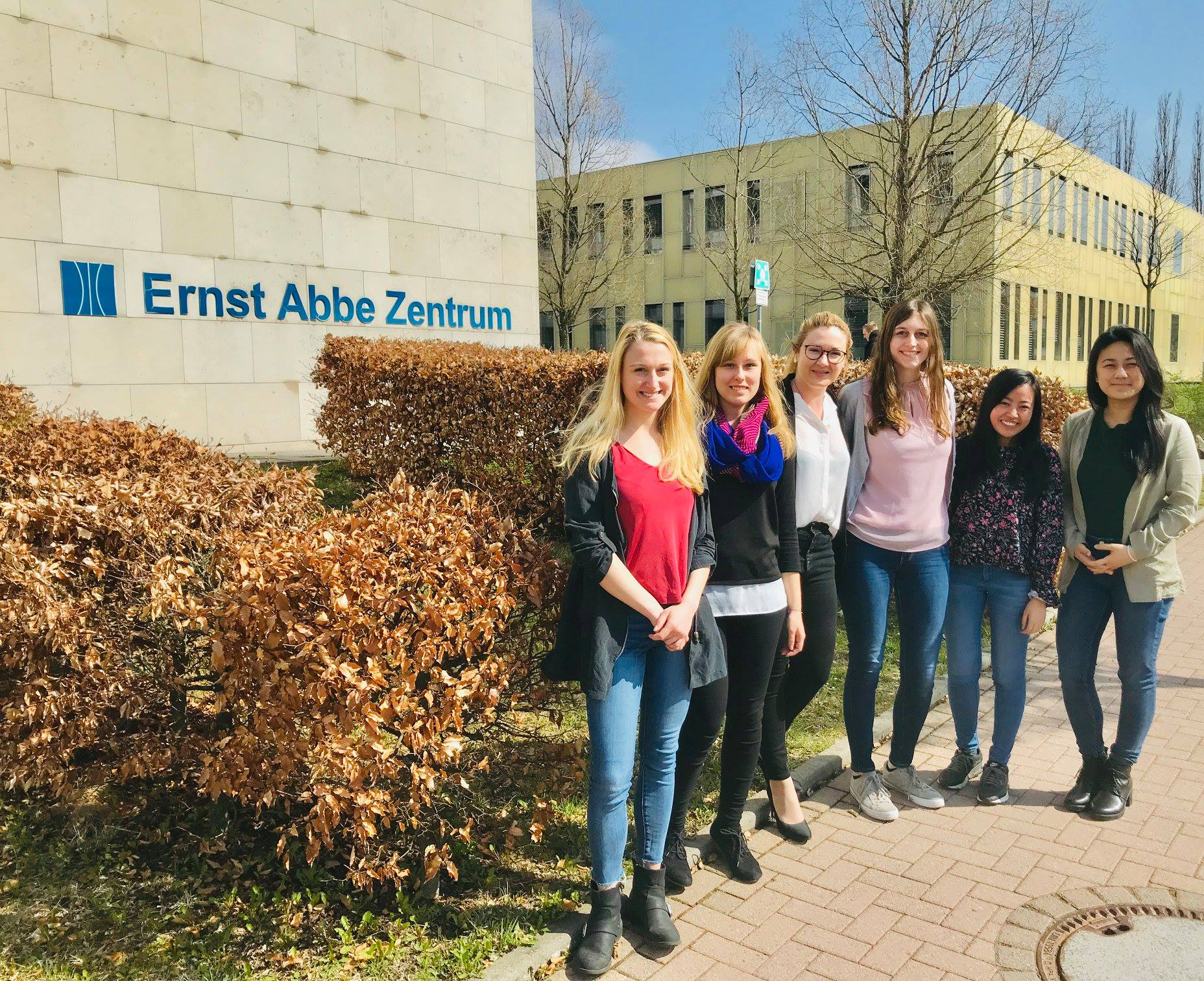 Lectures with international students in TU Ilmenau