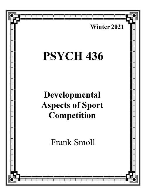 PSYCH 436