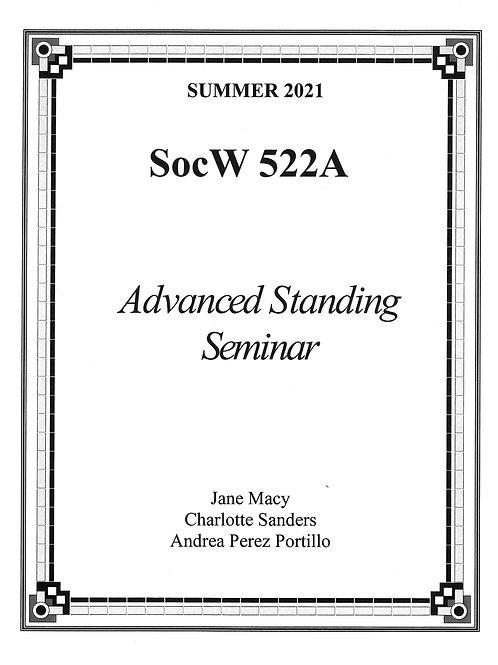 SOCW 522A