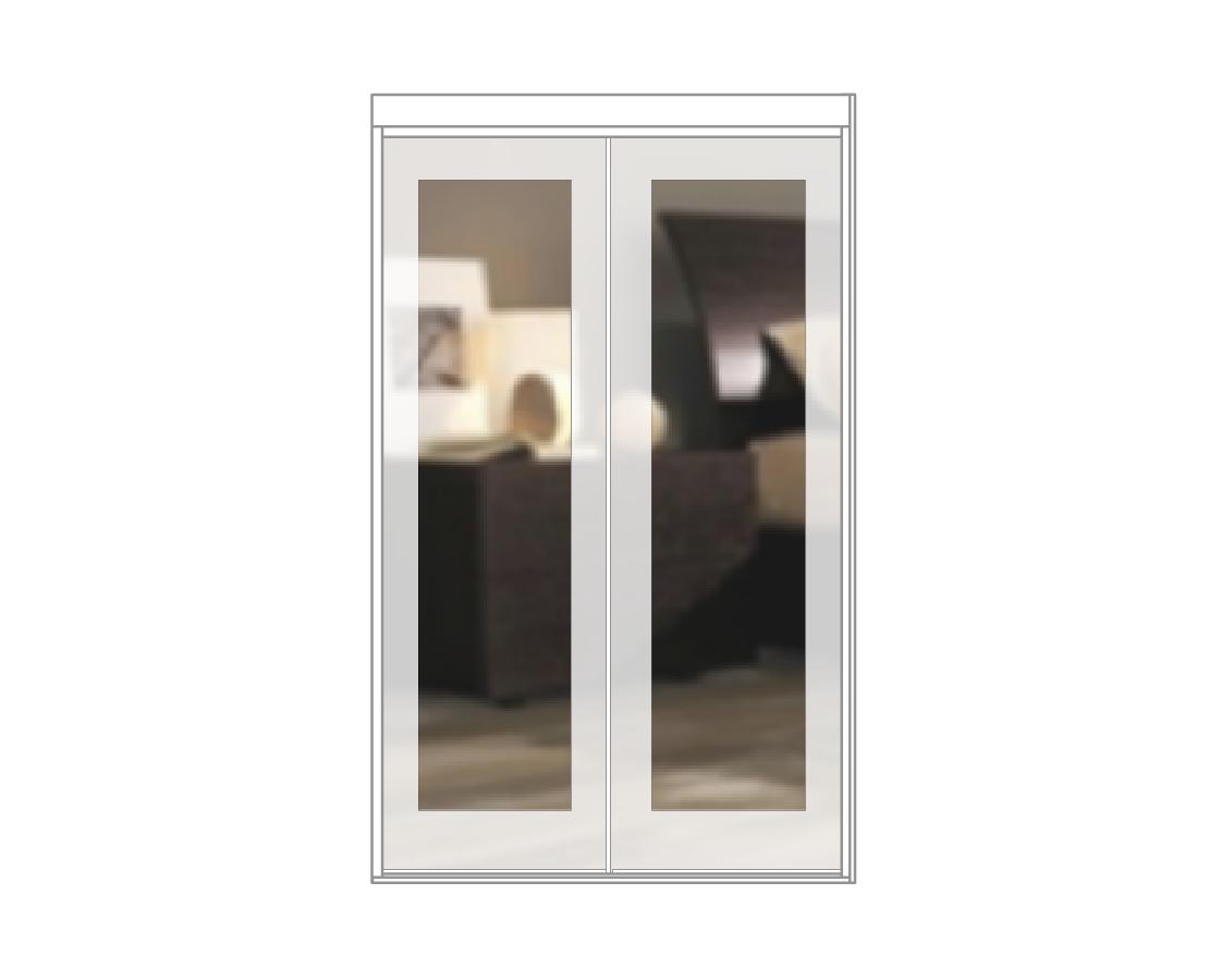 Mirror insert Doors
