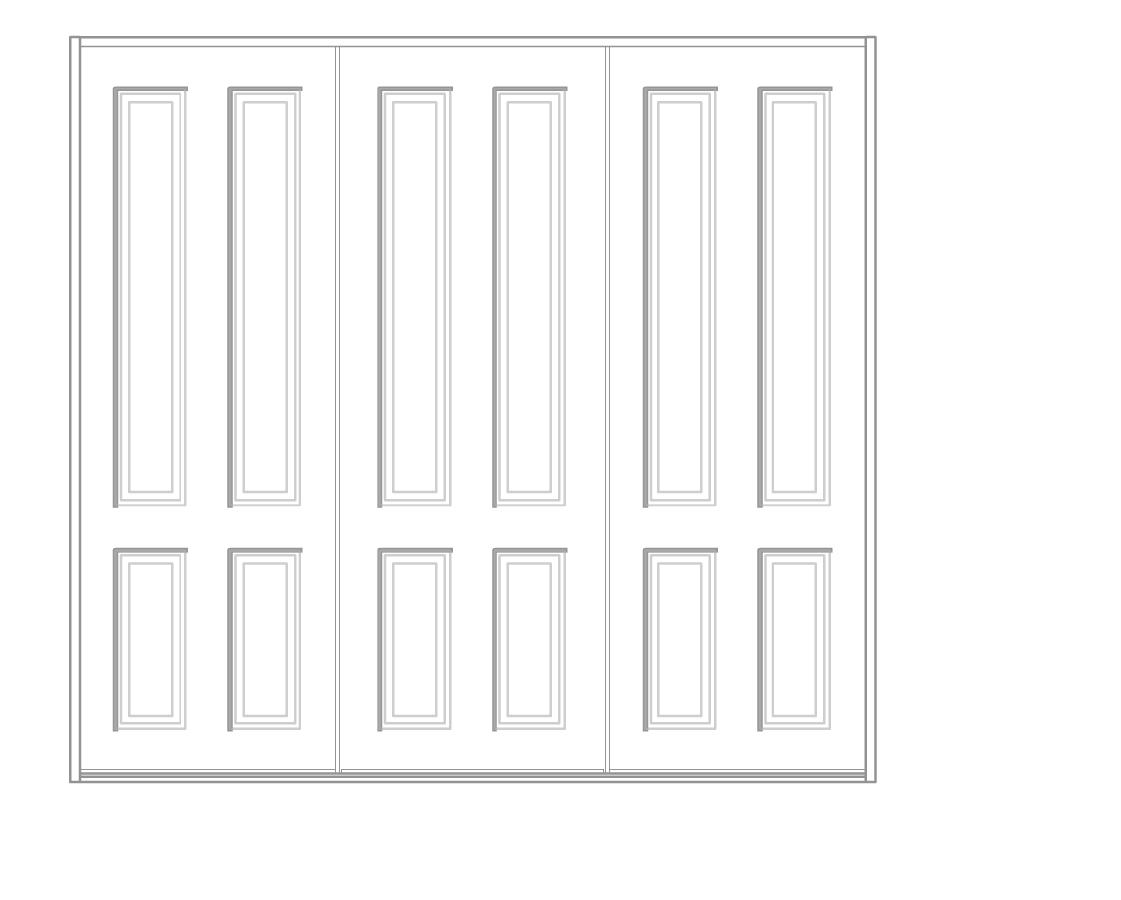 3 Door 4 panel