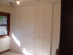 18 Primed Four Panel Doors