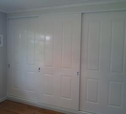 15 Frameless Poly 4 Panel Doors