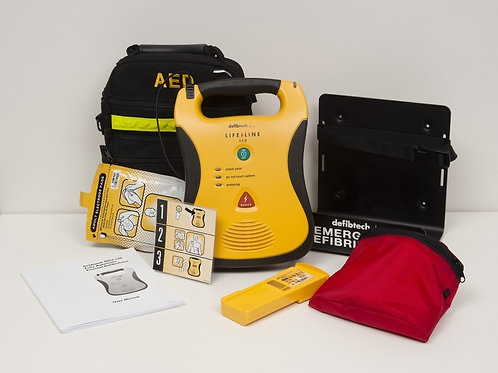 Defibtech Defibrillator AED Semi-Auto 5yr Battery w/ Bracket & Sign